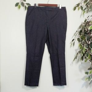 Talbots High Waist Slim Petite Trousers